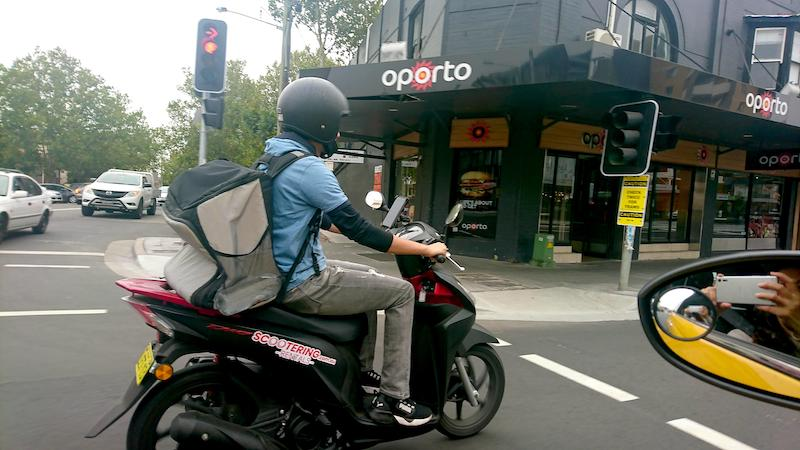 How to rent a scooter in Sydney or Melbourne for Uber Eats